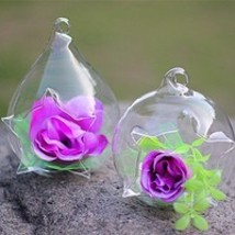 crystal decorative vase - $9.88