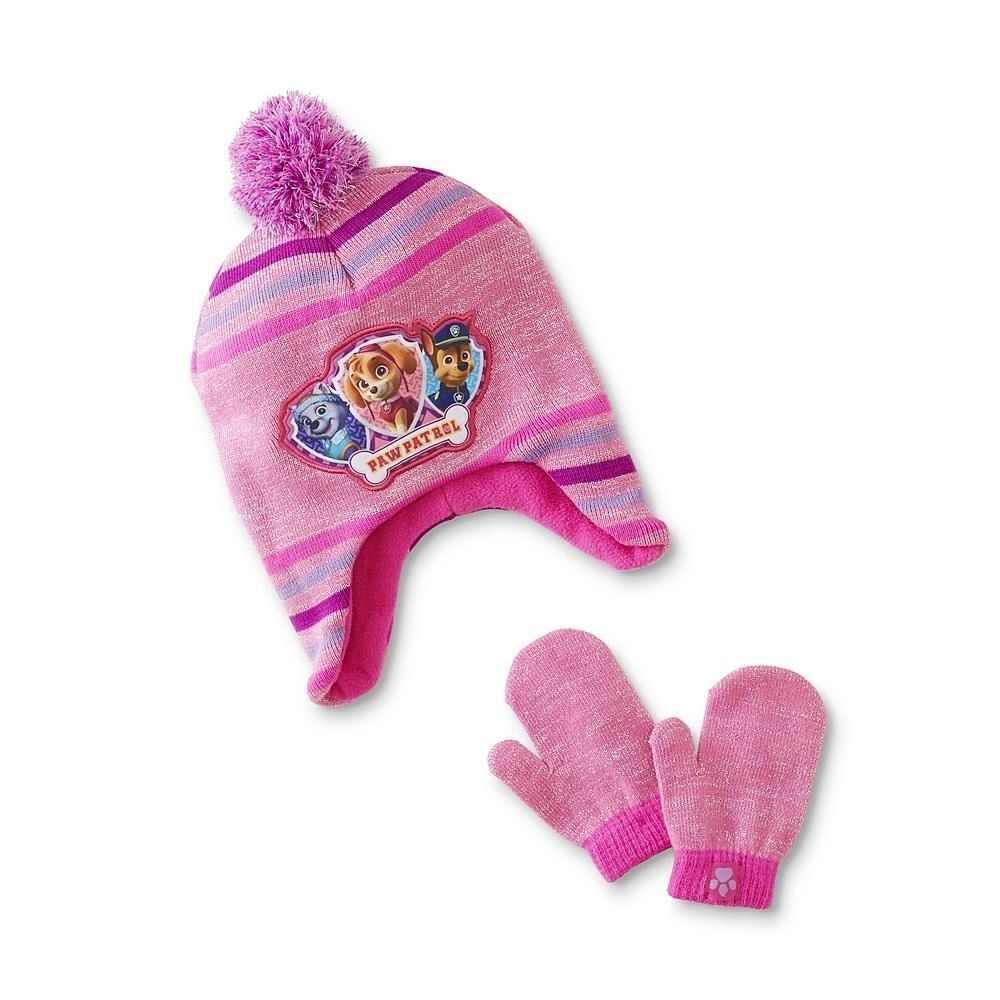 d2f723632915b PAW PATROL Pink Fleece-Lined Knit Trapper and 23 similar items
