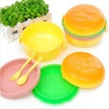 Super Cute Children Hamburger Lunch box. Idel forr Kindergarten - $4.95