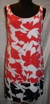 Isaac Mizrahi New York 12 Sleeveless Dress Straight Pencil Multi-Color - $28.17