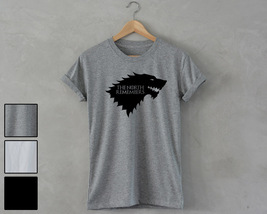 House Stark T-Shirt The North Remembers Unisex Tee game of thrones shirt... - $14.99