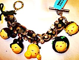 Gwen Stefani Harajuku Lovers Charm bracelet Dolls Fashion Jewelry Dolll ... - £47.75 GBP
