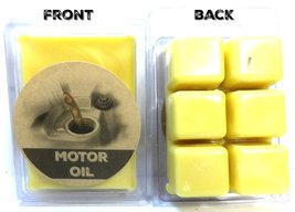 Motor Oil 3.2 Ounce Pack of Soy Wax Tarts (6 Cubes Per Pack) - Scent Bri... - $4.65