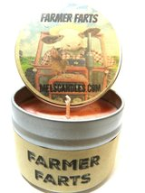 Farmer Farts (Fruity Type Aroma)- 4oz All Natural Soy Candle Tin - Appro... - $5.99