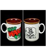 Vintage Grenfell Jones Keep Wales Tidy Litter England Mug Welsh Cartooni... - $19.95