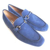 C-1389208 New Salvatore Ferragamo Nilo Suede Loafers Shoes Size US 10 D - $289.99