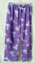 Faded Glory Multi-Color Polar Bears Snowflakes Pajama Pants Kids Sz 10-12 - $7.00