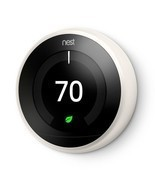 Nest Learning Thermostat 3rd Generation in Whit... - $379.99