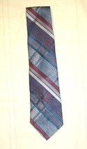 "Wembley Neck Tie  Multi-Colored Geometric Stripes 54"" by 4"" - $5.49"