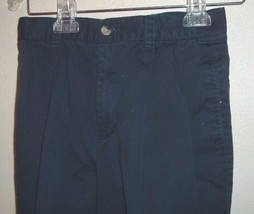Nautica Khaki  Blue Dress Pants Slacks Kids Waist 26 - $10.00
