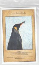 Penguin Applique Quilt Pattern David Taylor Quilts - $7.95