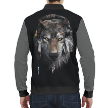 """Fashion Mens Full Printed 3D Bomber Jacket All Sizes XS - 5XL """"Wolf"""" - $59.95"""