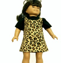Jumper in Cheetah Print and Blouse for an Ameri... - $8.50
