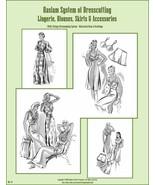 1940s 40s Haslam Draft Pattern Making Book #6 (Sewing Drafting) Dress Fa... - $14.99