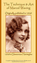 Hairstyles Book Flapper Era Marcel Wave Hairstyles 1926 - $17.99