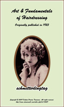 1923 Flapper Roaring 20s Hairstyle Book Hairstyles LONG HAIR STYLES How to DIY - $14.99