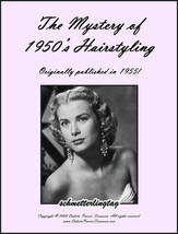 Vintage 1950s ATOMIC Hairstyles Create 50s Hair Book - $17.99
