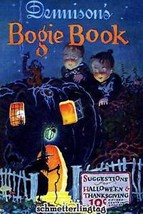 Dennisons Bogie Book Halloween Costumes Decoration 1925 - $14.75