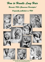 1950s ATOMIC Hairstyle Book Create 50s Long Hairstyles - $17.99