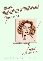 1940s Hairstyles Book Swing Era Illustrated Glamorous Hairstyle WWII Bea... - $17.99