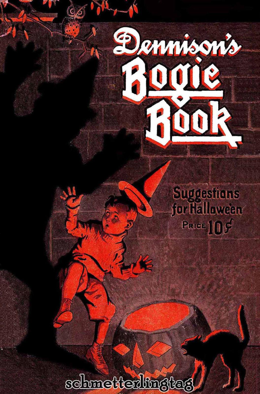 Dennison's Bogie Book (Halloween Thanksgiving) 1923