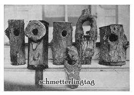 1924 Bird House Building Plans Book 38 Houses Feeders Sparrow Trap DIY Carpentry - $12.99