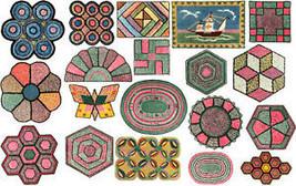 Rug Making Book Crochet Depression Rag Rugs Design1933 - $12.99