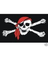 2 Color Pirate Skull & Cross Bones T-Shirt Hand screenprinted on 100% co... - $10.99