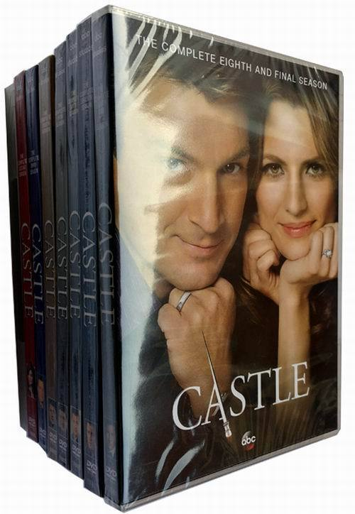 Castle The Complete Series Seasons 1-8 DVD Box Set 38 Disc Free Shipping New