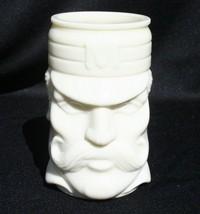 Vintage Avon Casey At Bat White Milk Glass Mug Tankard Baseball Mudville - $19.99