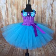 Purple & Turquoise Tutu Dress, Under the Sea Tutu, Under the Sea Party, Mermaid  - $40.00+