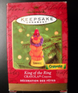 Hallmark Keepsake Christmas Ornament 2000 King Of The Ring Crayola Crayo... - $6.99