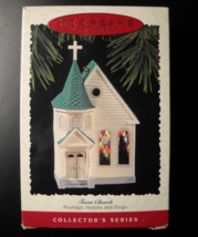 Hallmark Keepsake Christmas Ornament 1995 Town Church Twelfth Nostalgic ... - $8.99