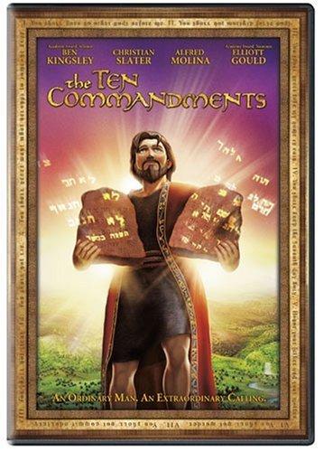 The ten commandments   animated   dvd