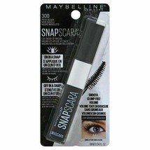 Maybelline New York Snapscara Washable Mascara in 300 PITCH BLACK 10ml/0... - $6.91