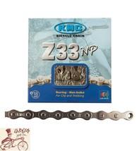 """KMC Z33NP   6-7-SPEED 1/2"""" X 3/32""""---116 LINKS NICKEL  MTB-ROAD BICYCLE ... - €11,35 EUR"""