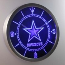 Neon Sign Clock  Cowboys - $59.99