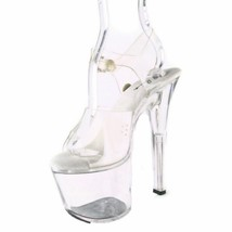 ELLIE Shoes Exotic Dance High Heels Platform Sa... - $46.95