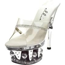 ELLIE Shoes High Heel Platform Detail Rhineston... - $82.95