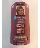 Instant Smile Deluxe Teeth SMALL Top Veneers Fa... - $14.95