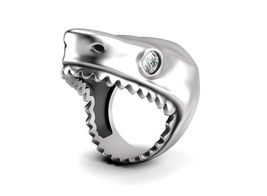 Shark Ring Great White Temple of the Ancient Dr... - $395.00