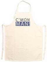Unisex Adult C'Mon Man Funny Adjustable Apron - $15.95