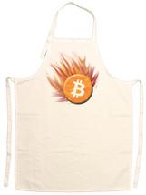 Unisex Adult Bitcoin Comet Adjustable Apron - $13.99