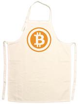 Unisex Adult Bitcoin Logo Adjustable Apron - $13.99