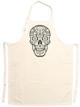 Unisex Adult Day of the Dead Sugar Skull Adjustable Apron - $14.95
