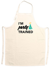 Unisex Adult I'm Party Trained Funny Adjustable... - $15.95