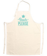 Unisex Adult Beach Lovers Beach Please Adjustable Apron - £11.50 GBP