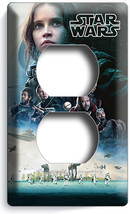 STAR WARS ROGUE ONE STORY JEDI REBELS DUPLEX OUTLET WALL PLATE COVER ROO... - $8.99