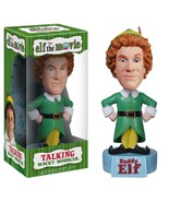 Elf The Movie Funko Buddy Talking Wacky Wobbler Bobble-Head - $39.99