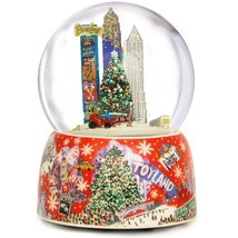 Rockefeller Center Snow Globe, Christmas Musica... - $34.64